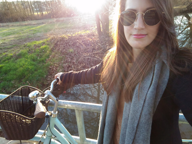 Fahrradtour mit meinem neuen Fahrrad