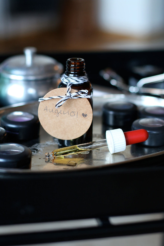 DIY Augenöl