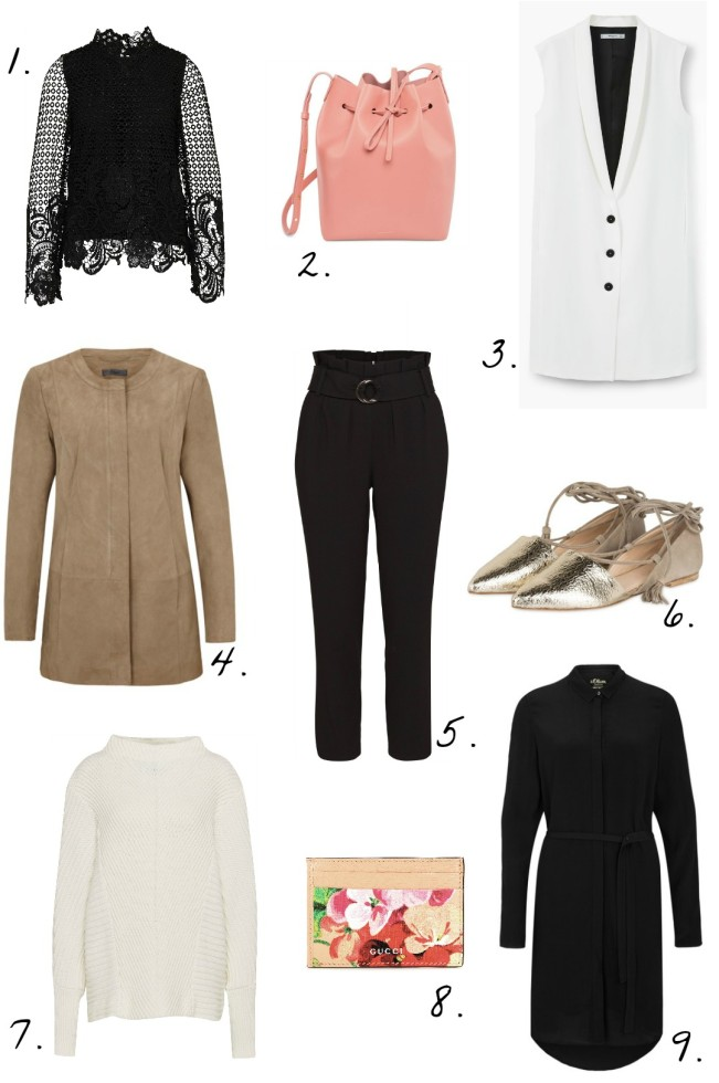 Meine Frühlings Picks Shoppingliste