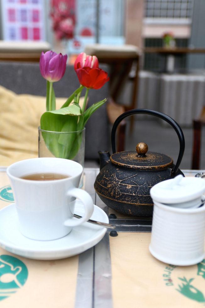 Tee trinken im W2 in Nürnberg