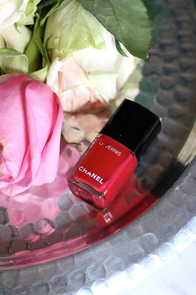 Meine liebsten Nagellackfarben für den Frühling, Chanel Shantung