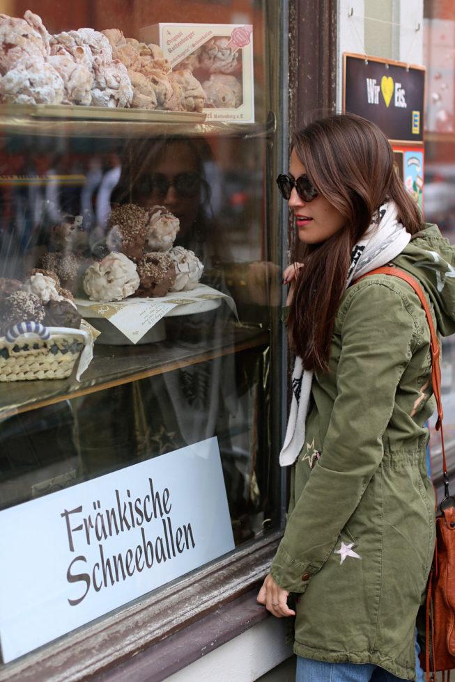 Fränkische Schnellballen Bäckerei in Dinkelsbühl