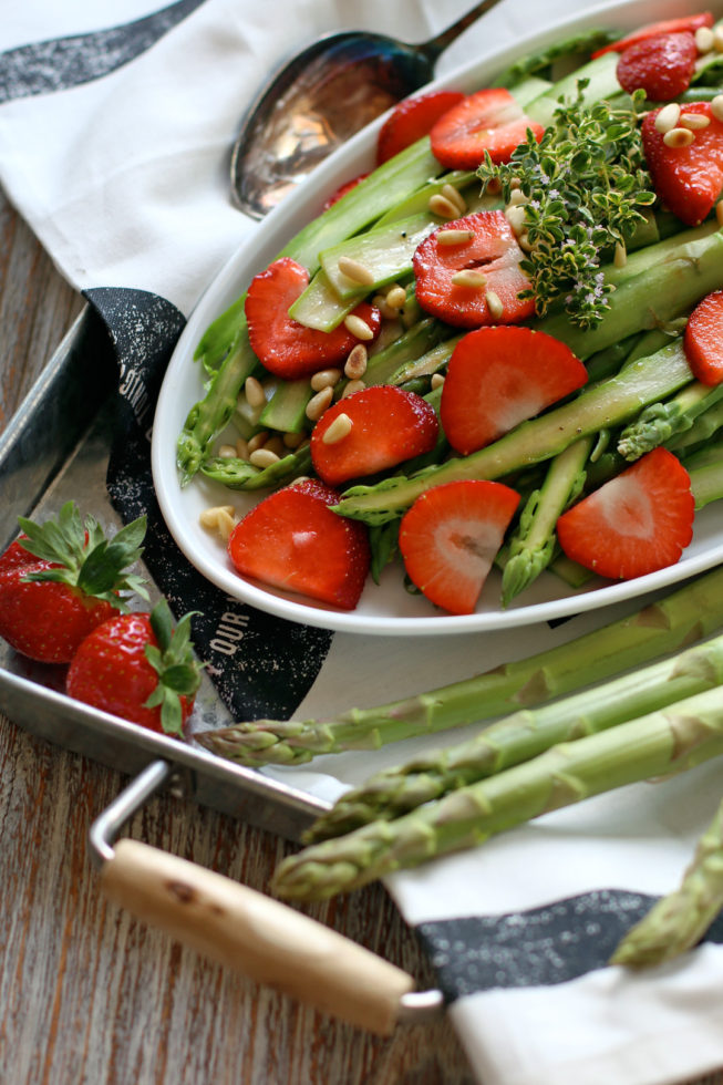 Erdbeer-Spargel-Salat