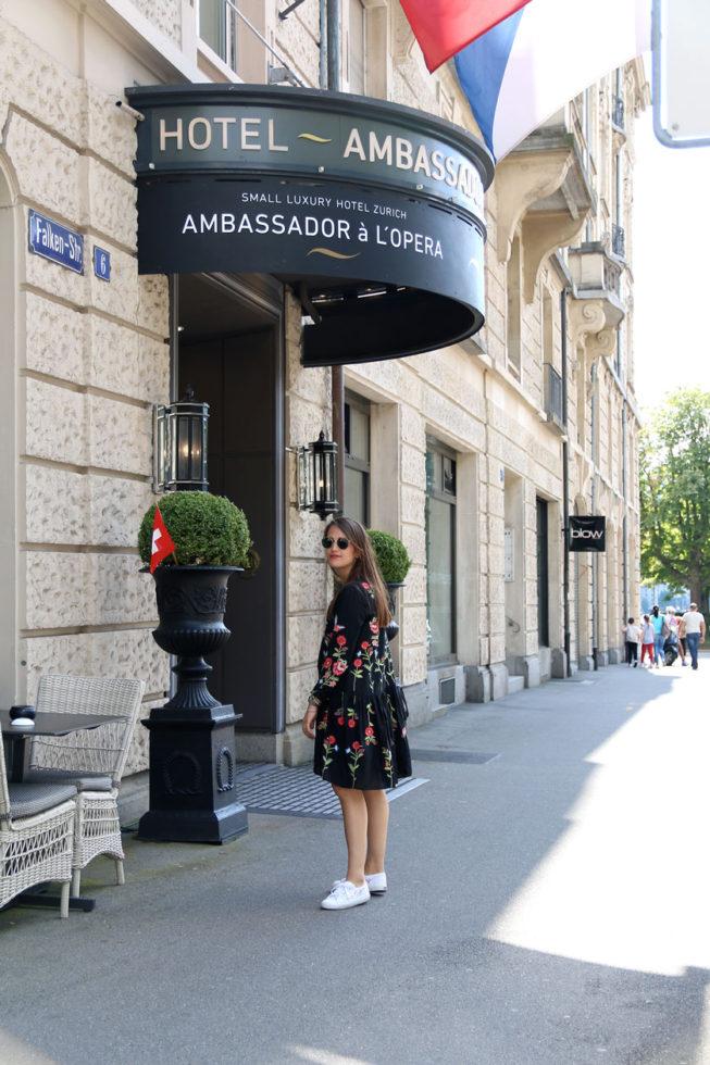Hotel Ambassador à l'Opéra Zürich