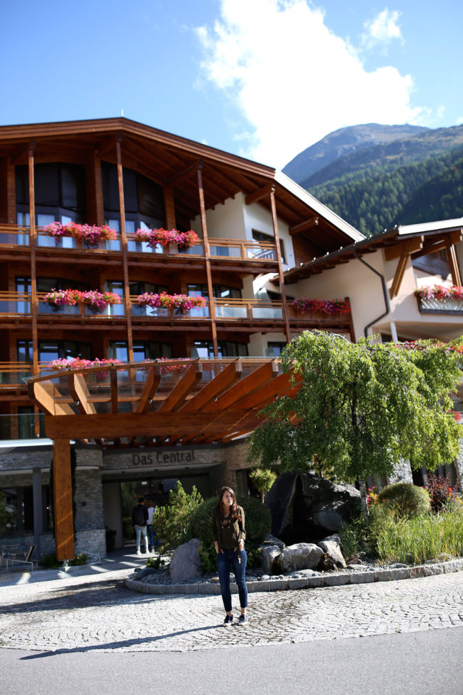 Hotel Das Central in Sölden