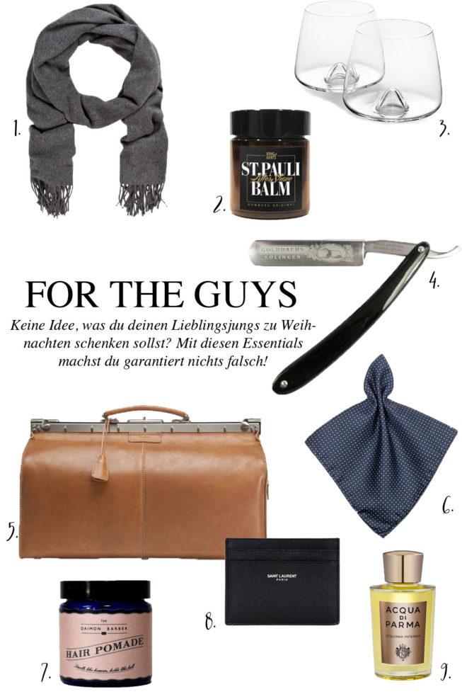 Geschenke Guide | Männer Edition - Pieces of Mariposa