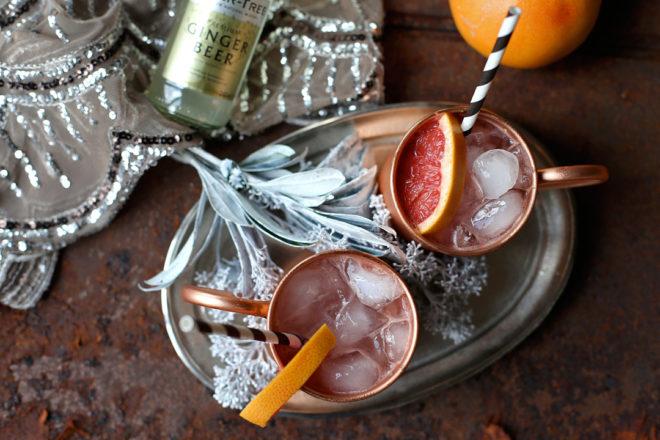 Rezept Mexican Mule mit Grapefruit und Tequila
