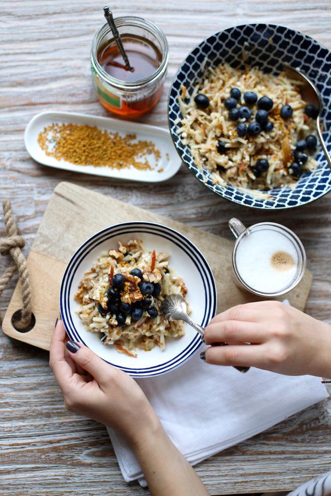 Gesundes Frühstück, Regionale Superfood-Bowl, Regionales Superfood