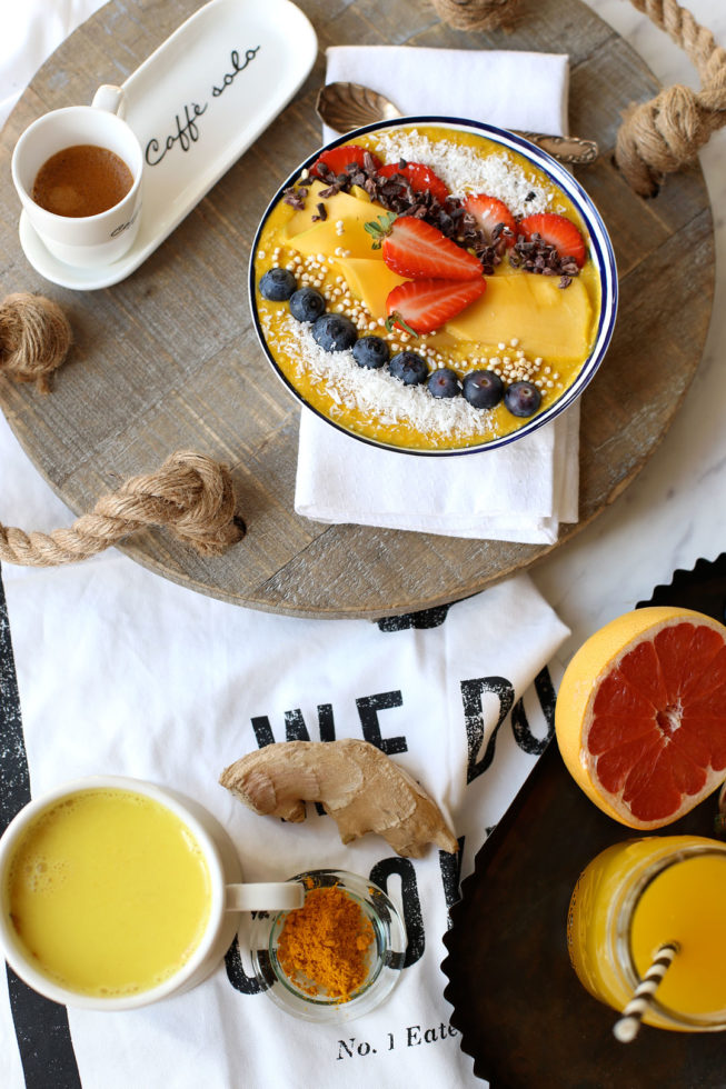 Gesundes Frühstück: Drei Muntermacher mit Kurkuma, Rezeptideen mit Kurkuma