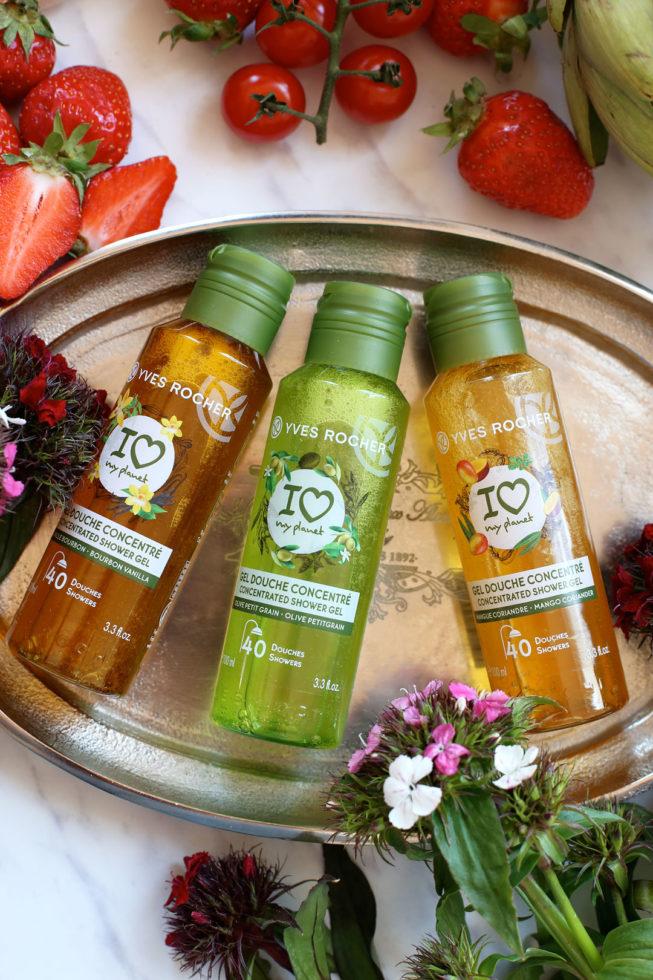 Eco-Douche Challenge mit dem Duschgelkonzentrat von Yves Rocher und 40 Tage unverpackte Lebensmittel