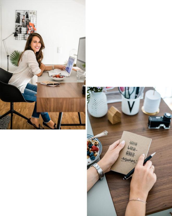 Loft Living, Mein Blogger Home Office mit Cupertino Schreibtisch von Bo Concept, Fashion & Lifestyleblogger Nürnberg