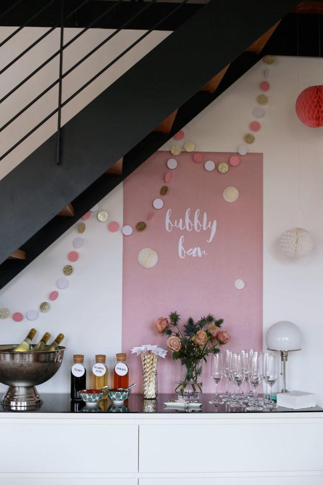 Hochzeitskolumne: Mein Bridal Brunch mit Bubbly Bar Vorlage zum Ausdrucken