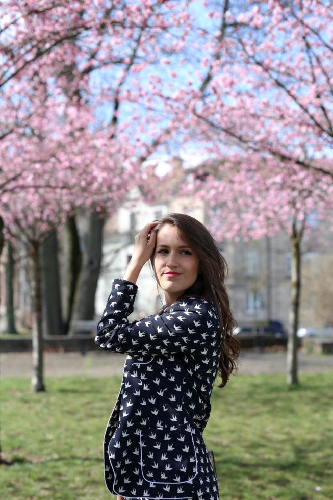 Frühlingstrend Zweiteiler und Statement Blazer
