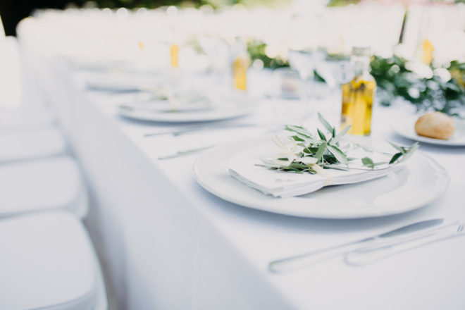 Hochzeitskolumne: Unsere mediterrane Hochzeitsdeko
