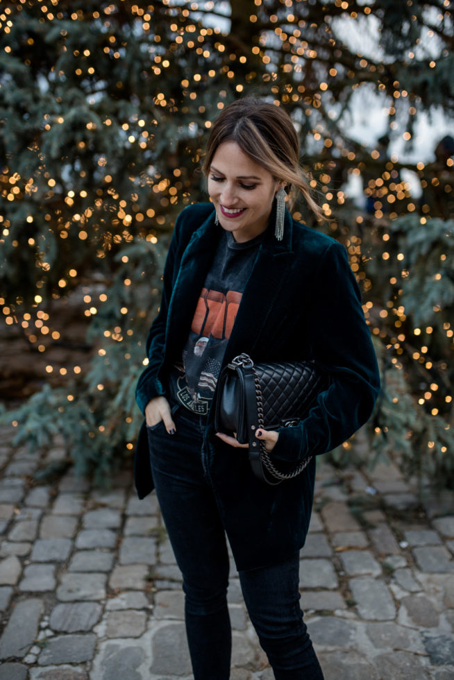 Unkompliziert ins neue Jahr: Entspanntes Silvester-Outfit