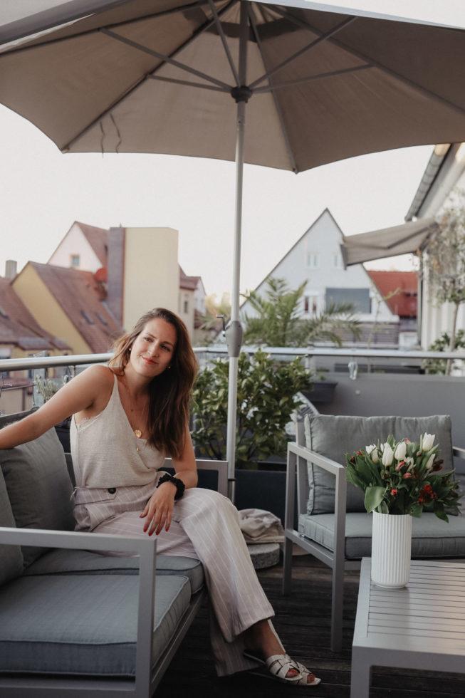 Der Balkon im #mariposaloft
