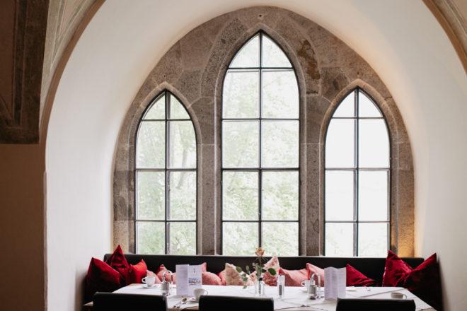 Restaurant auf Schloss Mittersill