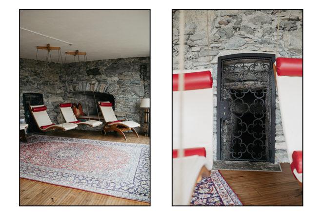 Spa Bereich auf Schloss Mittersill