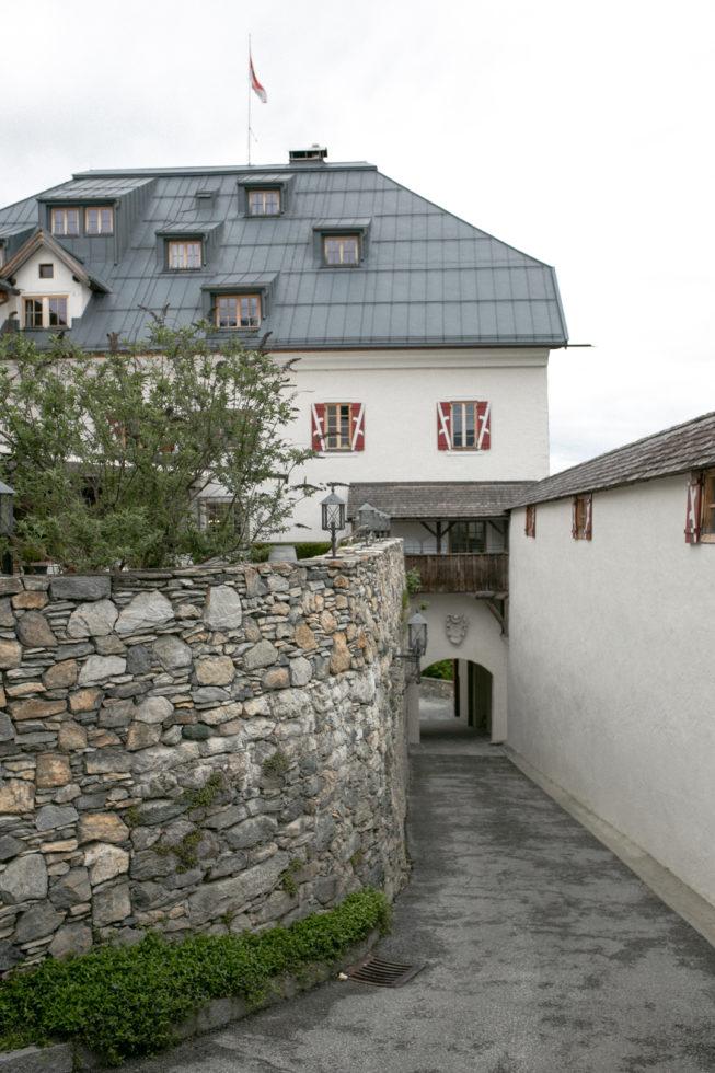 Zufahrt Schloss Mittersill