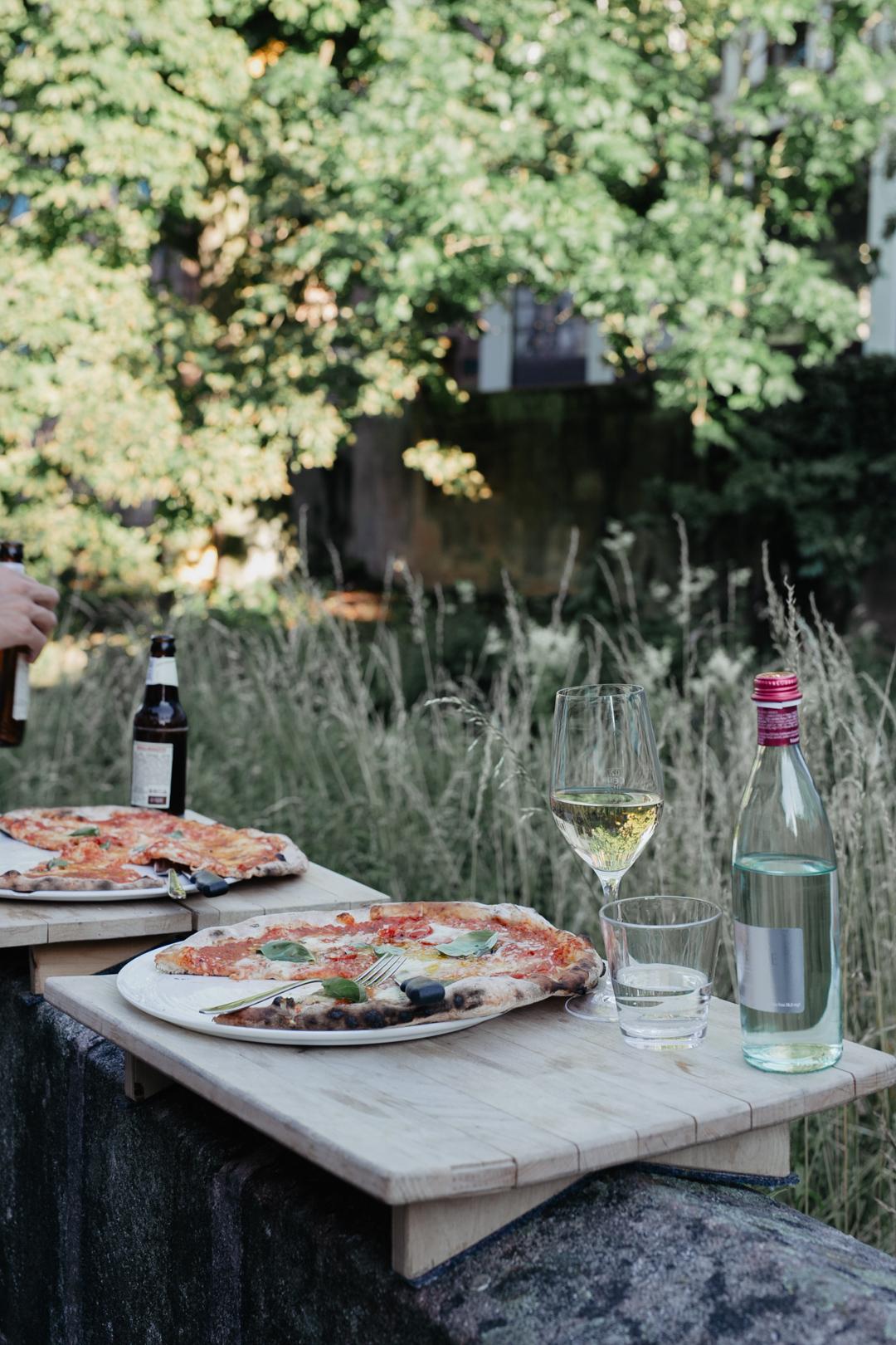 Pizza Maueressen bei Luigi in Schwabach