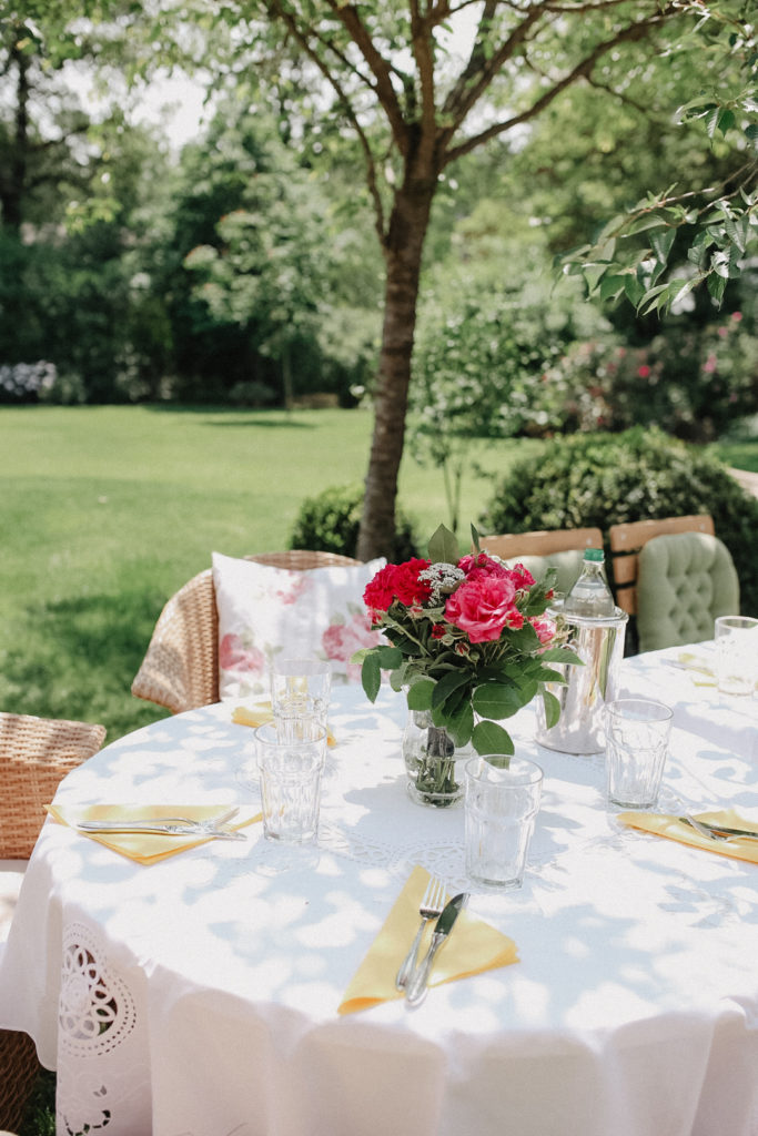 Sommer Fest im Garten