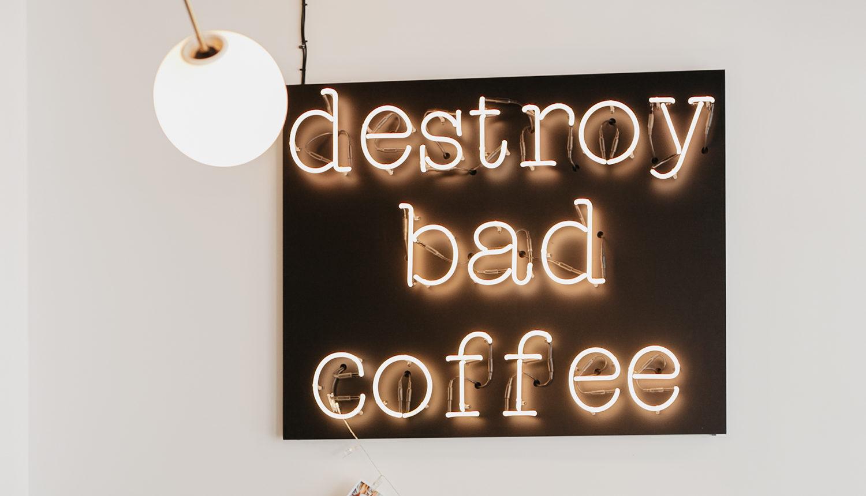 Ich mag mich und guten Kaffee zu sehr, um bei Qualität zu sparen
