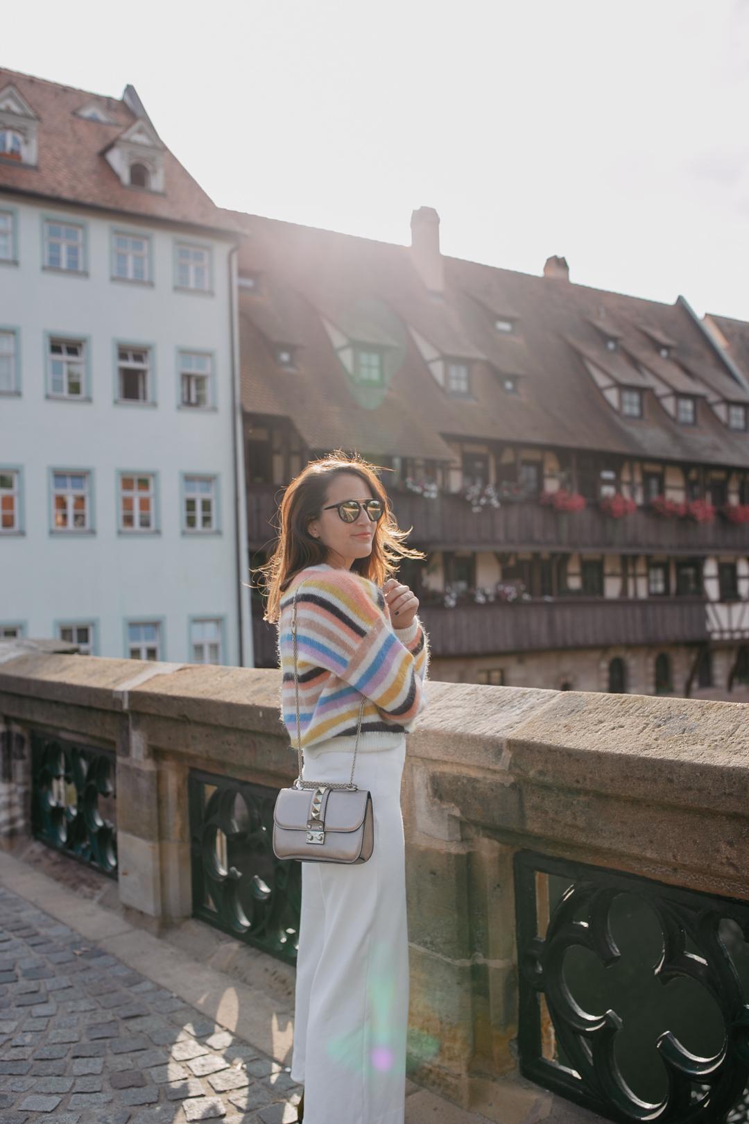 Herbstfavorit: Bunter Strick | www.piecesofmariposa - Fashion & Lifestyle Blog aus Nürnberg