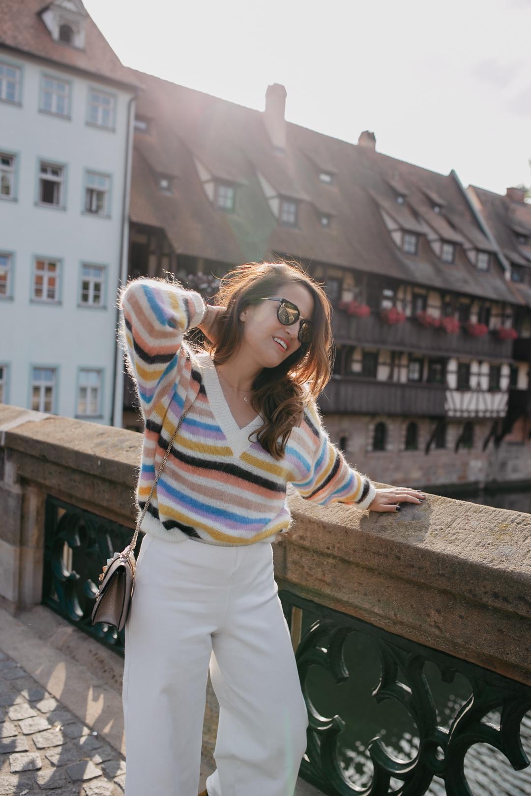 Herbstfavorit: Farbenfrohe Strickpullover | www.piecesofmariposa - Fashion & Lifestyle Blog aus Nürnberg