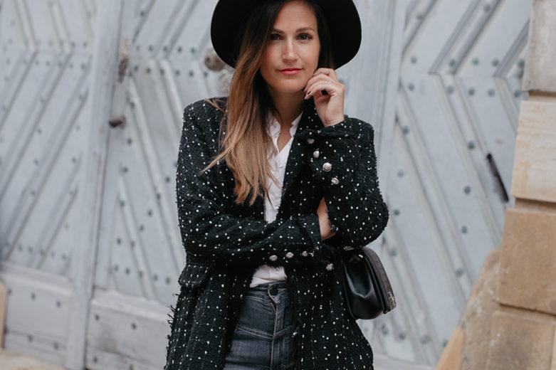 Outfit mit Blazer von Lioness