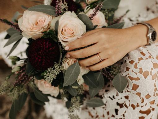 Pieces Of The Week 313, Herbstlicher Brautstrauß
