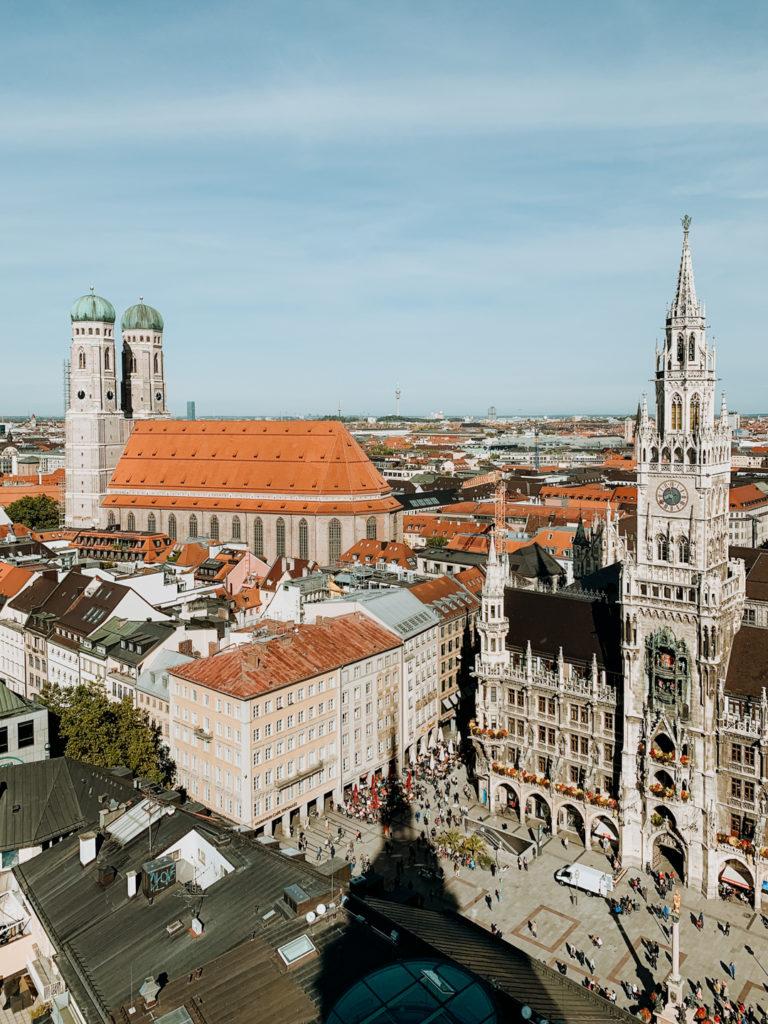 Pieces Of The Week 313, Blick vom Alten Peter in München