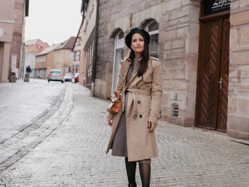 Outfit Baskenmütze