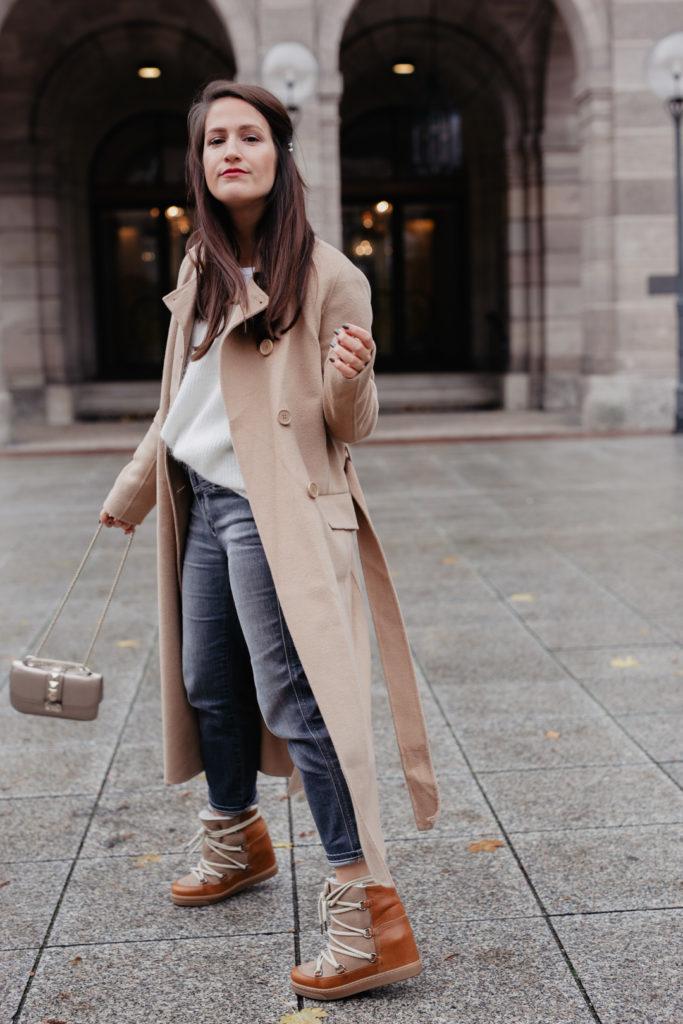Der perfekte Camel Coat
