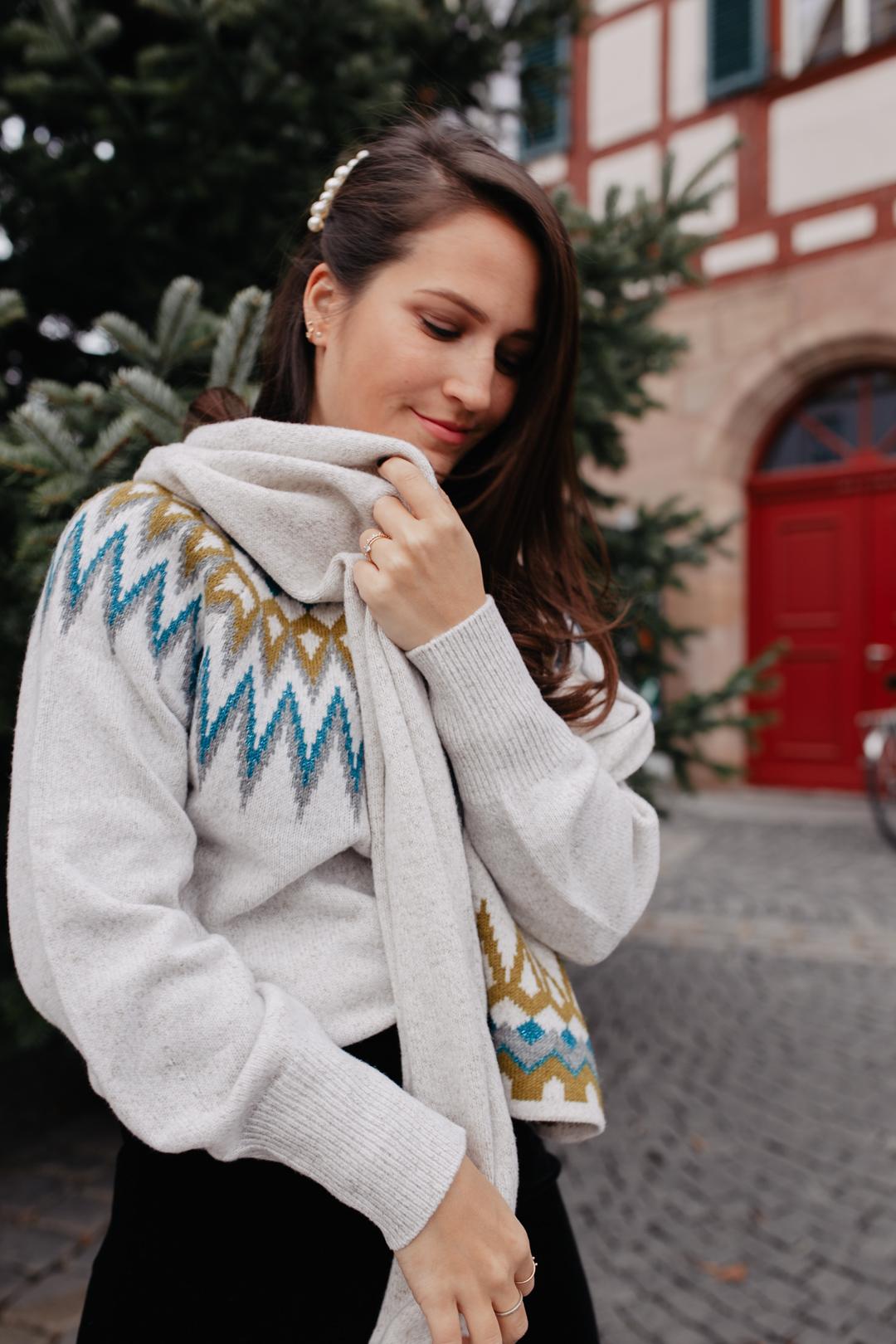 Norwegerpullover kombinieren - Pieces of Mariposa // Fashion & Lifestyle Blog Nürnberg