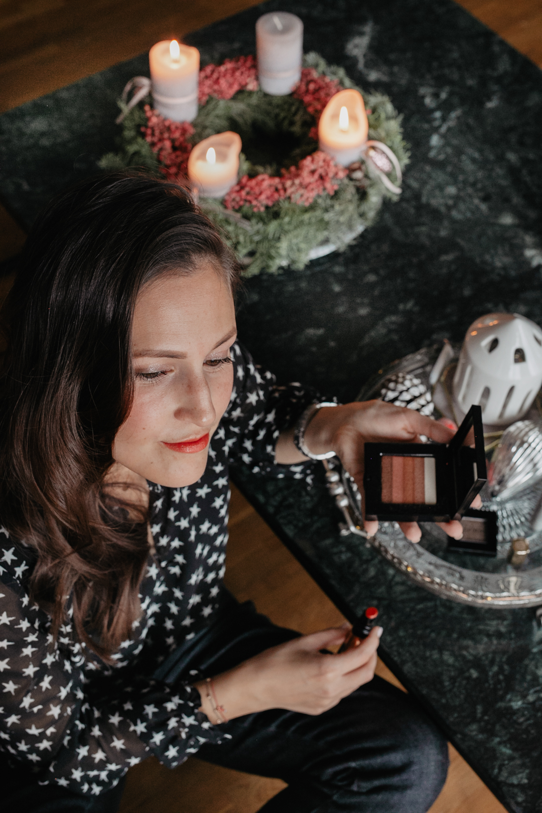 Weihnachtlichen Makeup Look - Pieces of Mariposa / Fashion & Lifestyle Blogger Nürnberg