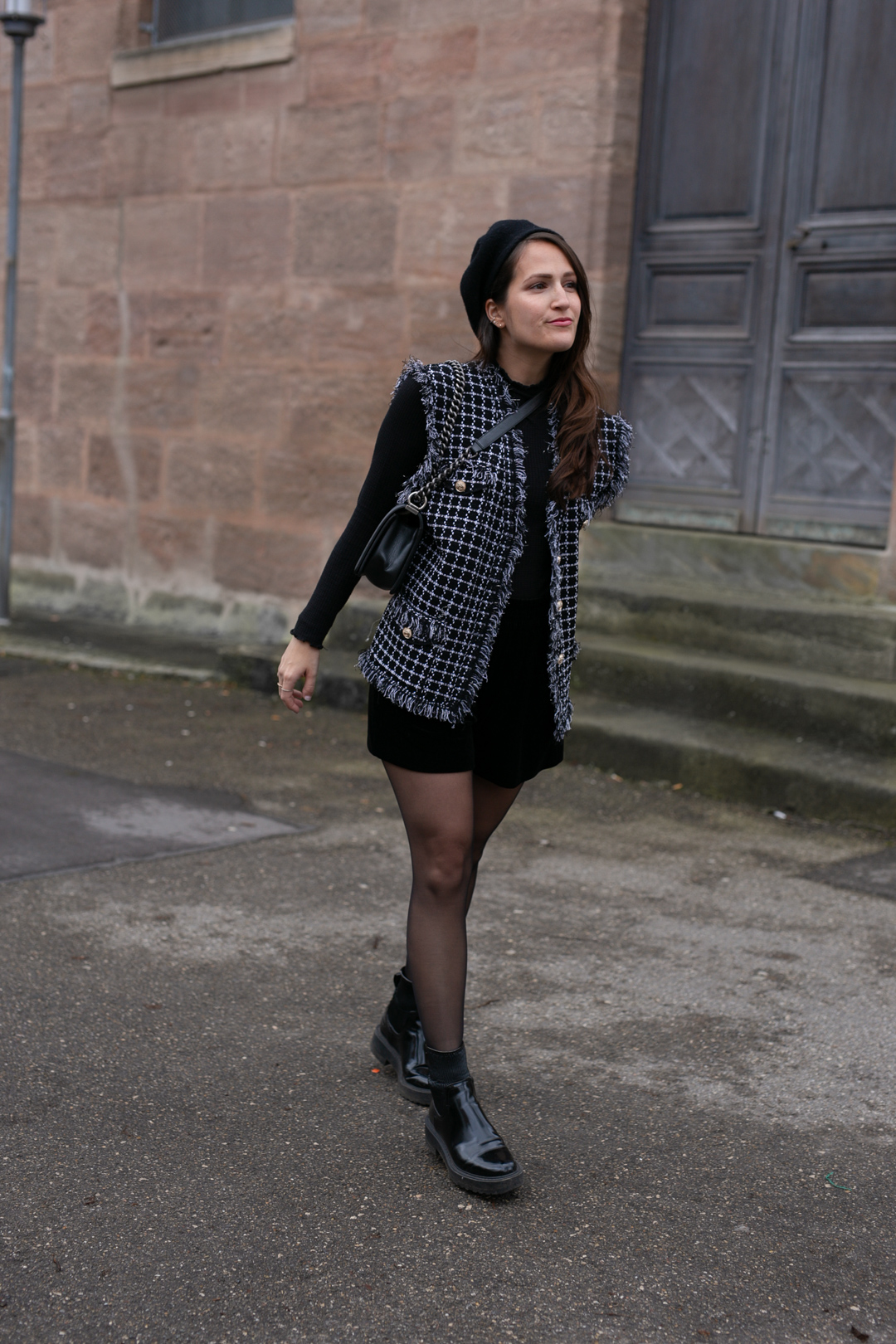 Beret stylen - www.piecesofmariposa // Fashion & Lifestyle Blog Nürnberg