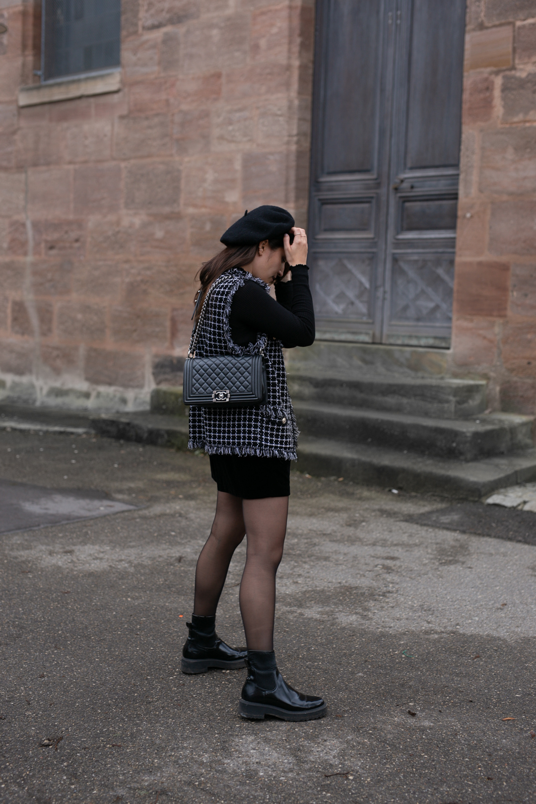 Outfit mit Baskenmütze - www.piecesofmariposa // Fashion & Lifestyle Blog Nürnberg