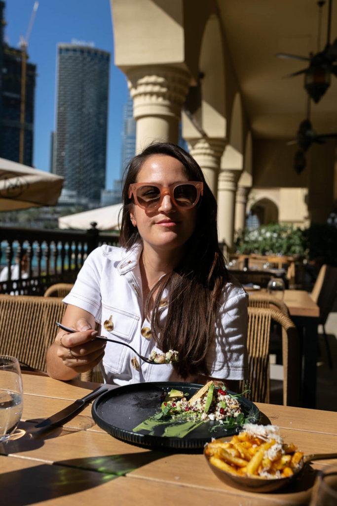 Mittagessen im The Meat Dubai