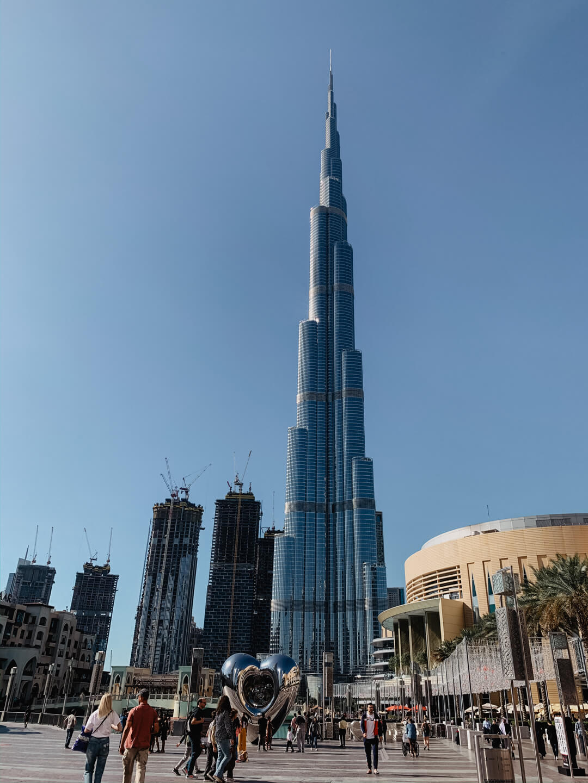 Blick auf den Burj Khalifa - Pieces of Mariposa // Lifestyle Blog aus Nürnberg