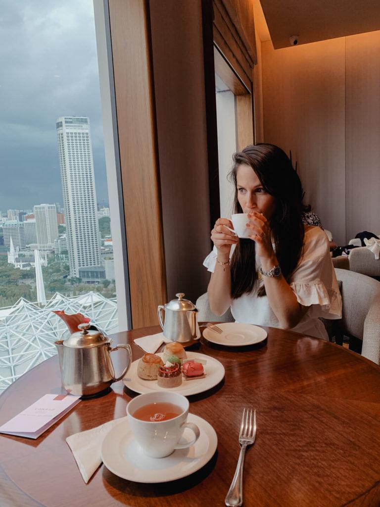Tea Time im Conrad Centennial Singapur