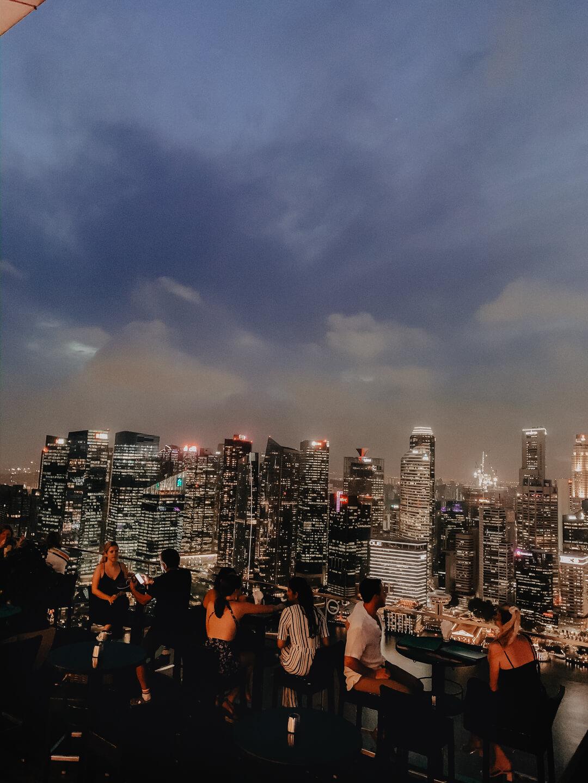 Blick von der Rooftop Bar im Marina Bay Sands Hotel // Pieces of Mariposa - Lifestyle Blog aus Nürnberg