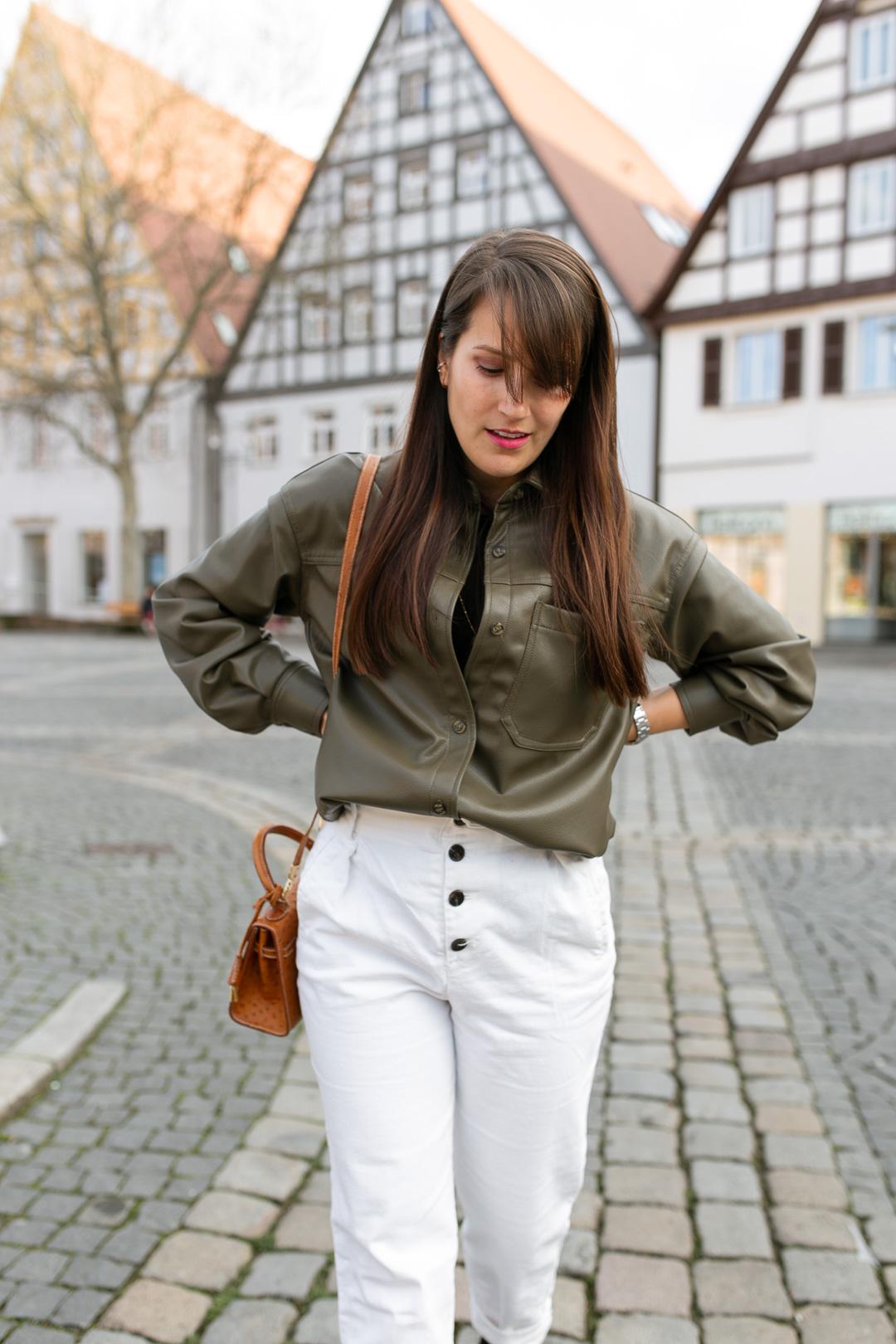 Trend Lederhemd - Pieces of Mariposa / Fashion & Lifestyle Blog aus Nürnberg
