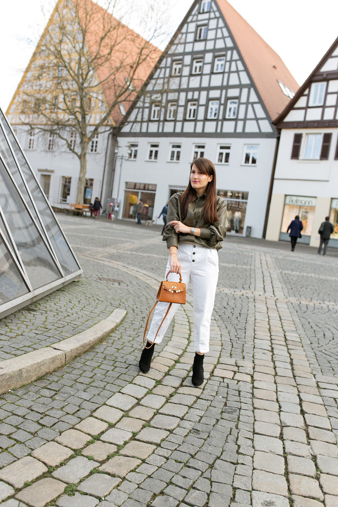 Lederbluse stylen - Pieces of Mariposa / Fashion & Lifestyle Blog aus Nürnberg