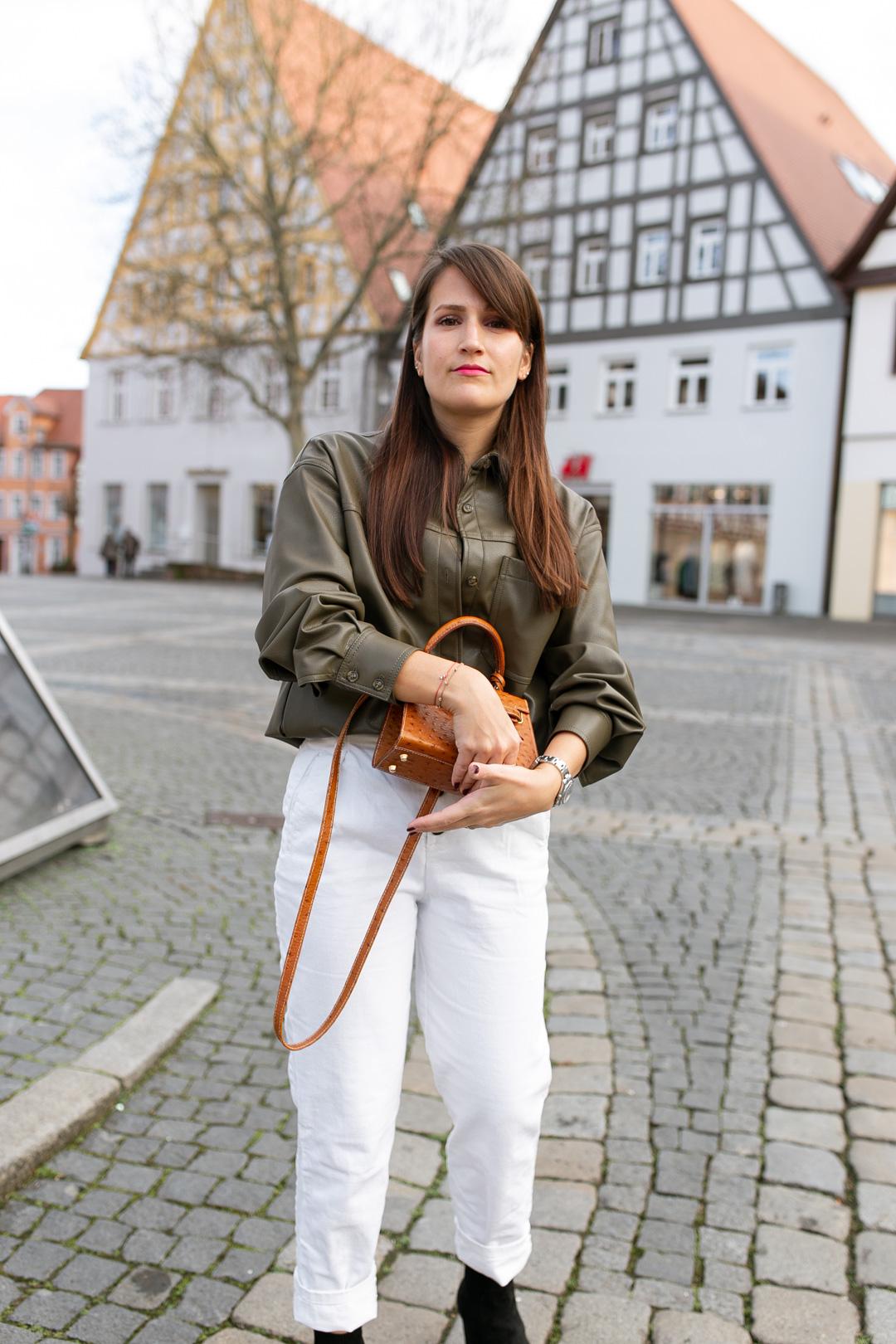 Shacket aus Leder - Pieces of Mariposa / Fashion & Lifestyle Blog aus Nürnberg