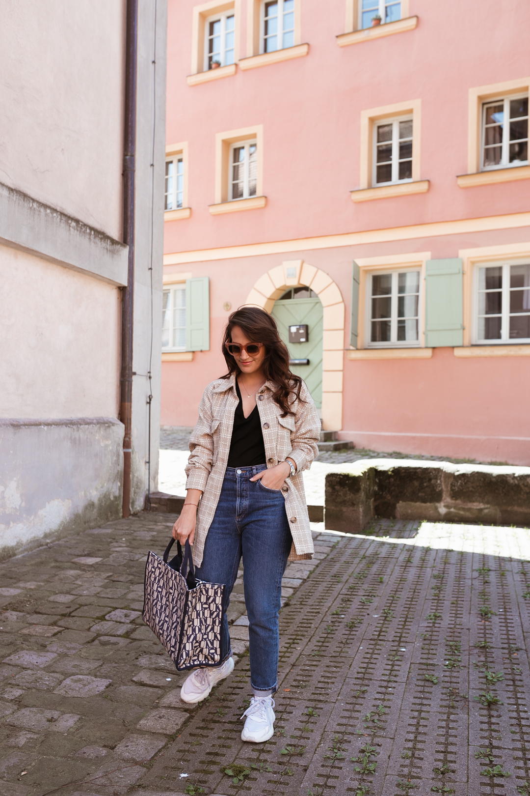 Outfit mit Shacket // Pieces of Mariposa - Fashion & Lifestyle Blog aus Nürnberg