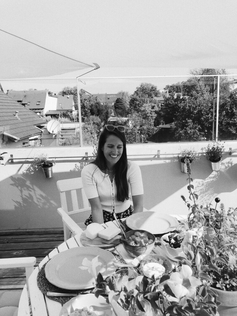August Vlog | Frühstück auf der Terrasse mit Freunden