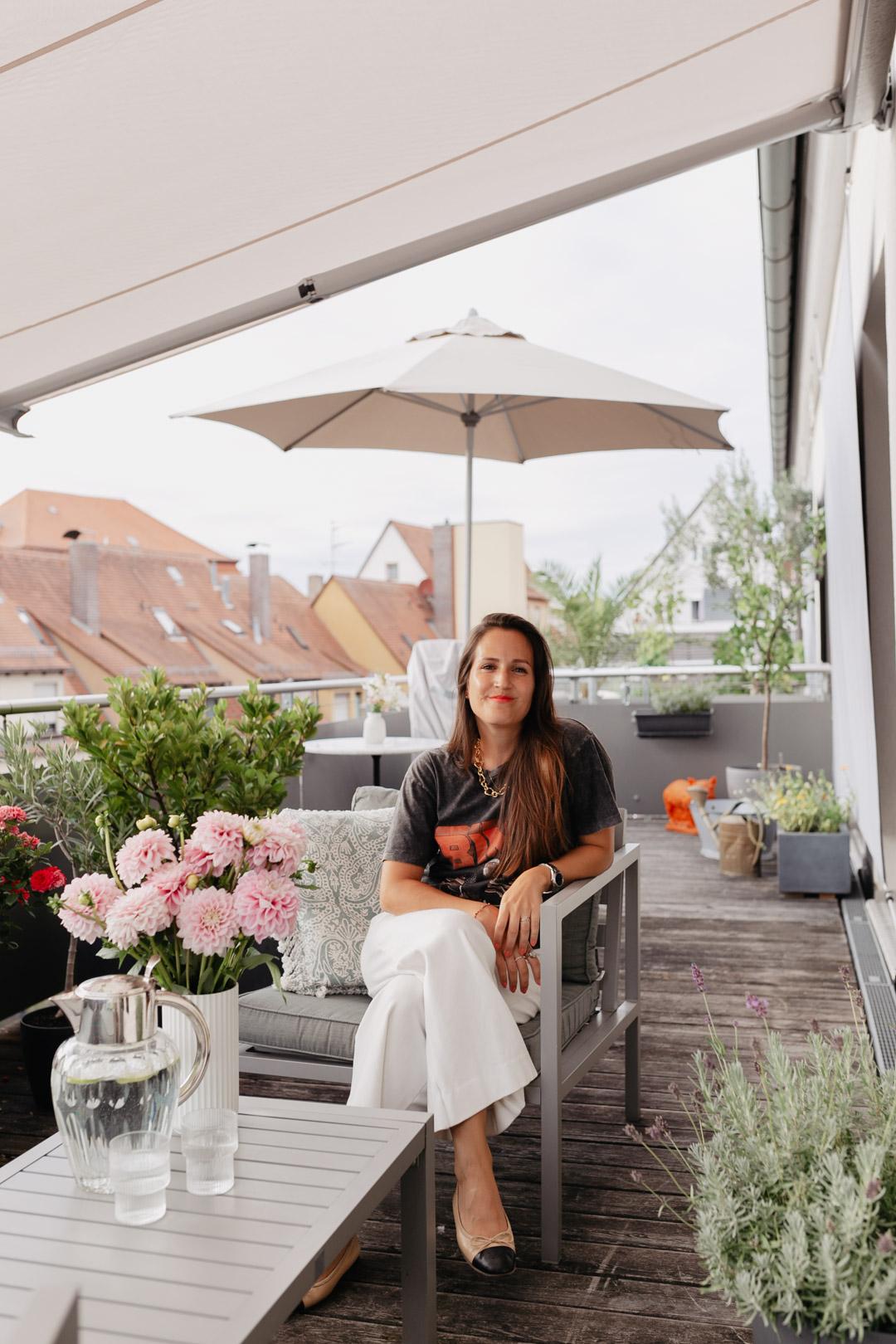 Balkonien 2020 – Unsere Dachterrasse im Loft | www.piecesofmariposa.com