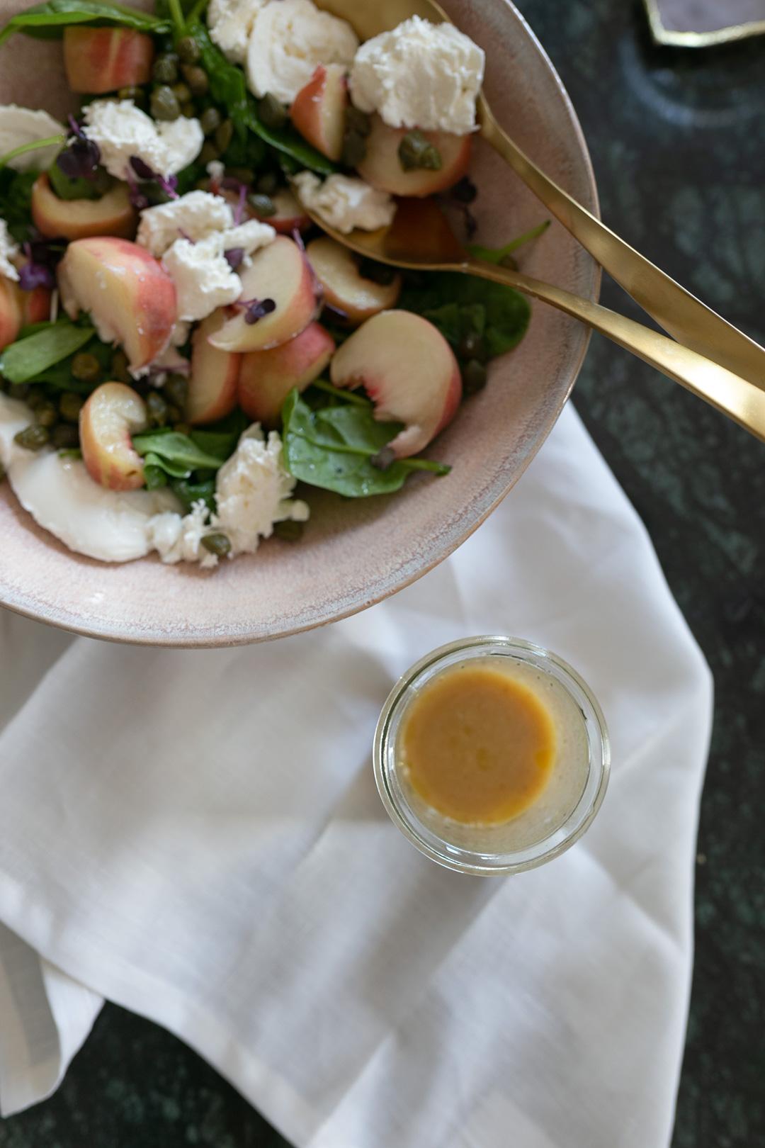 Rezept für einen spätsommerlichen Salat | www.piecesofmariposa.com