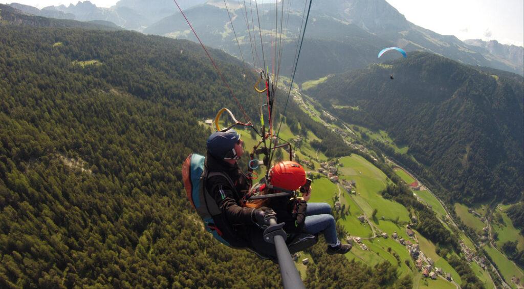 September Vlog - Paragliding in den Dolomiten